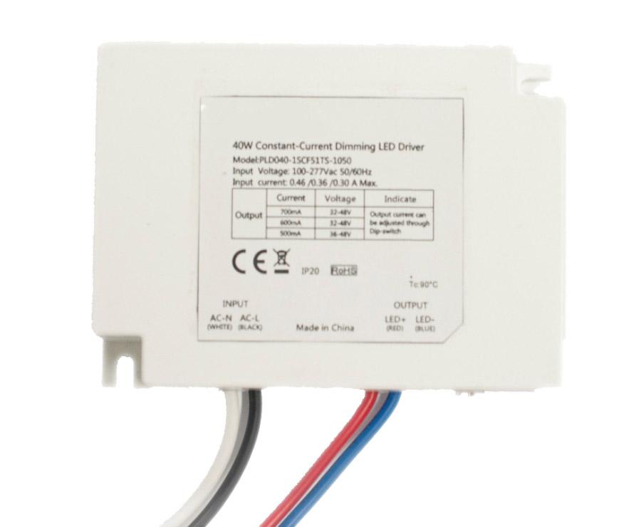 42w 三合一 0-10v led调光驱动电源